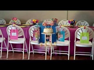 DIY Candyland birthday party decorating ideas
