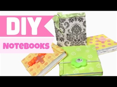 DIY crafts:HOW TO MAKE mini NOTEBOOKS