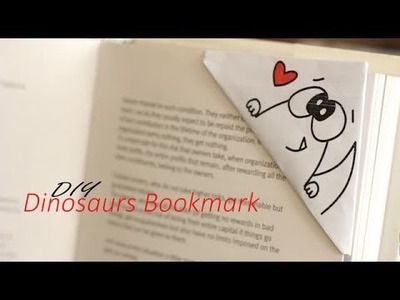 DIY : Dinosaur Bookmark