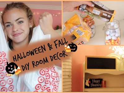 DIY Fall+Halloween Room Decor