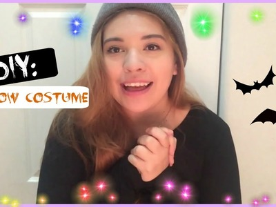 DIY: Glow costume for Halloween! CHEAP & EASY.