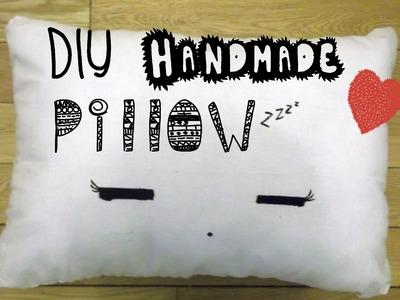 DIY : Handmade Pillow ♥