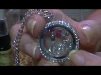 DIY Mary Kay locket Necklace