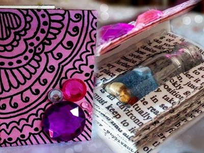 DIY: Mini Book for Bottle Charms ♥