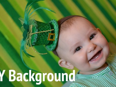 DIY Photobooth Background for St. Patrick's Day