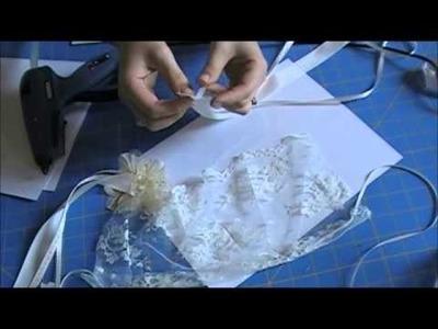 DIY Photography Prop: Vintage Lace Bonnet in 4 Minutes