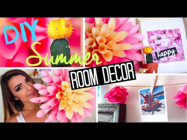 Diy Summer Room Decor Diy Polaroids Tumblr Wall Prints More