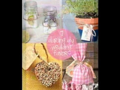 DIY wedding gift decorations ideas