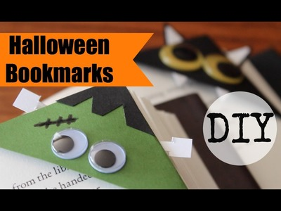 Halloween DIY Bookmarks!