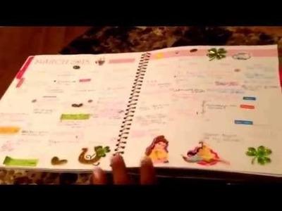 How I Erin Condren style My Sugar paper.Blue Sky Planner !