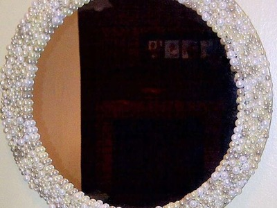 How To Make A Beautiful Pearl Mirror - DIY Home Tutorial - Guidecentral