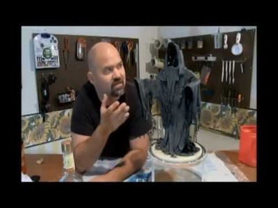How to make a Paper Mache Reaper.  Revised