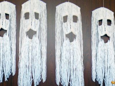 How to make Yarn Ghost? DIY