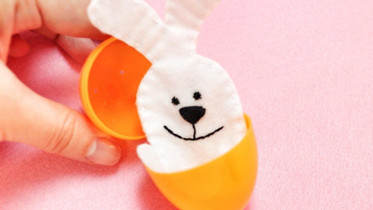 Make a Funny Felt Bunny Finger Puppet - DIY Crafts - Guidecentral