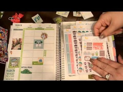 Plan With Me in my Plum Paper Planner March16-22