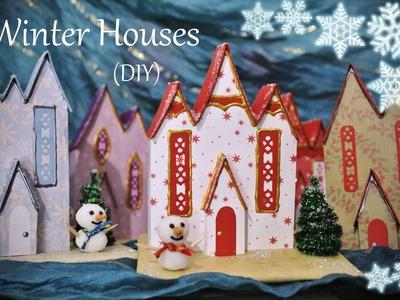Winter.Christmas House (DIY)
