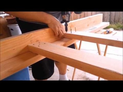 Woody Wednesday: My 1st DIY Full Size Bunk Bed