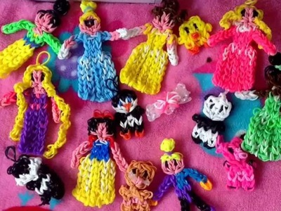 All of my Rainbow Loom Charms and Figurines!