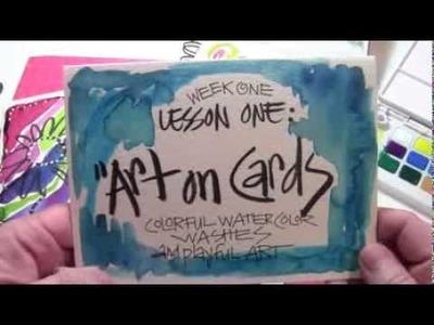 Artful Card-Making Techniques - Part 3 - Joanne Sharpe