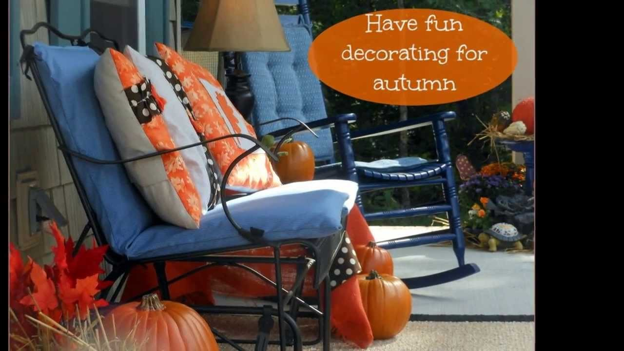 Autumn Porch Decorating from Front Porch Ideas
