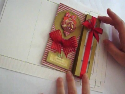 Christmas Card With Gift
