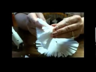 Coffee Filter Flowers Carnations