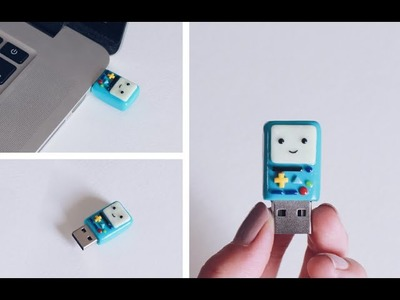 DIY: BMO Polymer Clay Flash Drive Back To School Tutorial