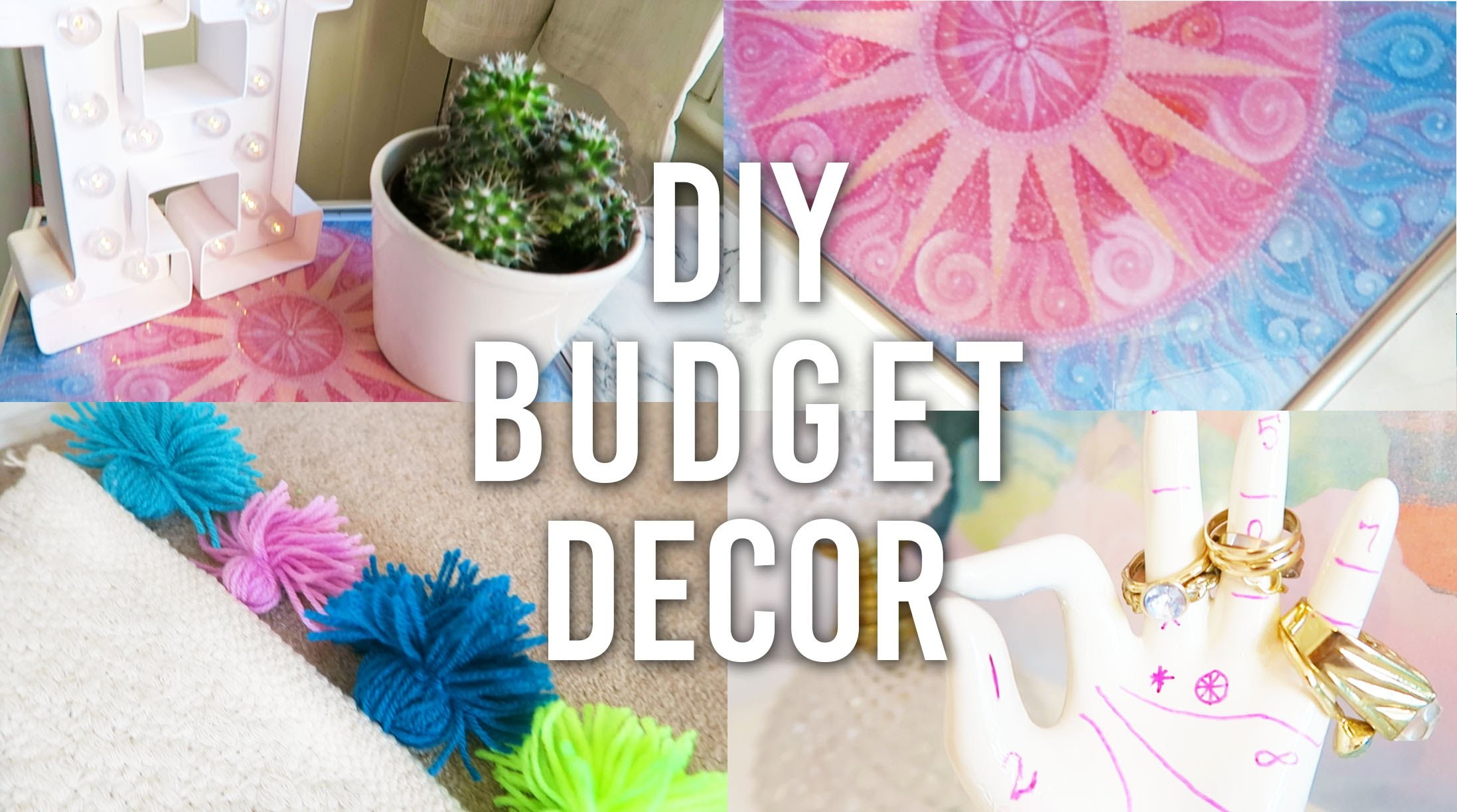DIY Budget Room Decor for £1 | Pinterest and Tumblr Inspired