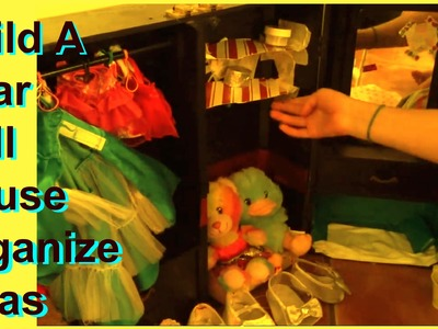 DIY Build A Bear House | Organization and Ideas | Toy House Center for Build A Bear