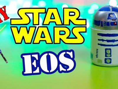 DIY EOS Star Wars EOS Lip balm -Make Your Own EOS Design - R2-D2 Droid Eos