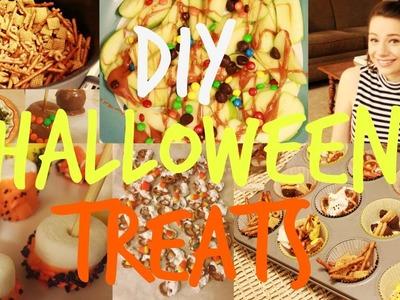 DIY FALL & HALLOWEEN TREATS!