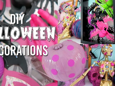 DIY Halloween Decorations and Room Decor!