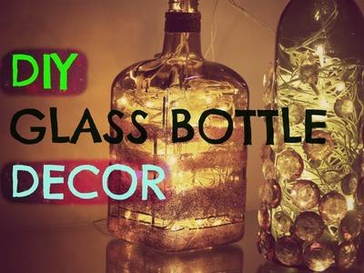 DIY Home Decor : Upcycle Glass Bottles | Astha Bisani