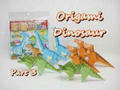 DIY Origami Pack - Dinosaur (Part 3 of 3 - Brachiosaurus)