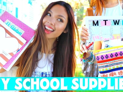 DIY School Supplies & Organization Ideas! | Back to School 2015 +Giveaway!!