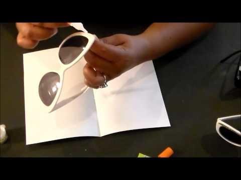 Dollar Tree DIY ~Embellished Sunglasses~