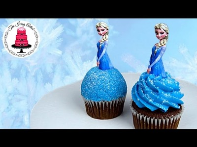 Frozen Princess Elsa Cupcake - How To With The Icing Artist