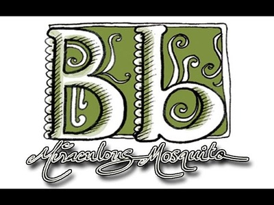 Fun with typography - The Letter B - A Dangerous Doodle by Miraculous Mosquito.