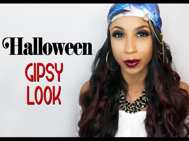 Halloween 2015   Easy DIY gipsy costume and hair tutorial