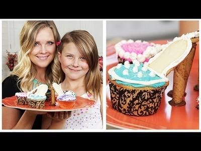 High Heel Cupcakes!!