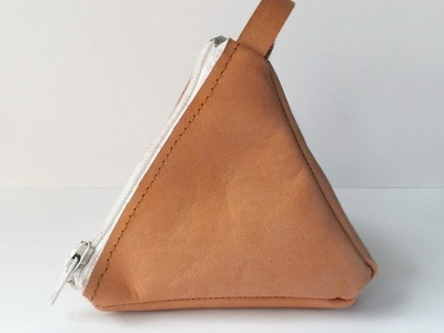How To Create a Stylish Pyramid Leather Pouch - DIY Style Tutorial - Guidecentral