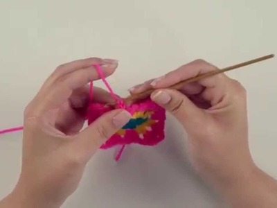 How to crochet a granny square – Beginners crochet