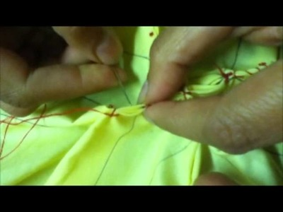 How To Do Smocking (Box Style) By Rose