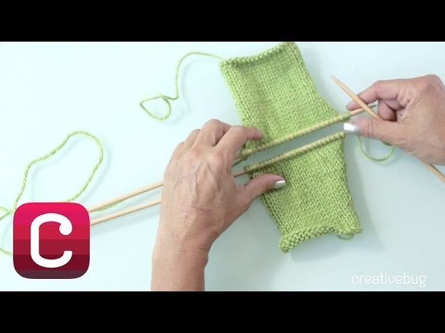 How to Finish Your Knitting with a Three-Needle Bind Off I Creativebug