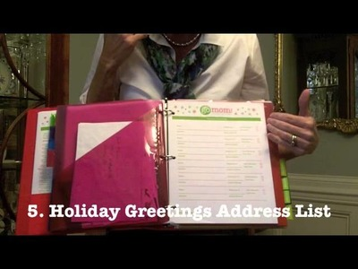How to Make a #DIY Holiday Planner with GO MOM!