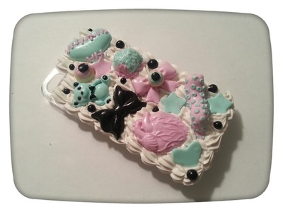 How To Make A Pastel Goth Deco Case
