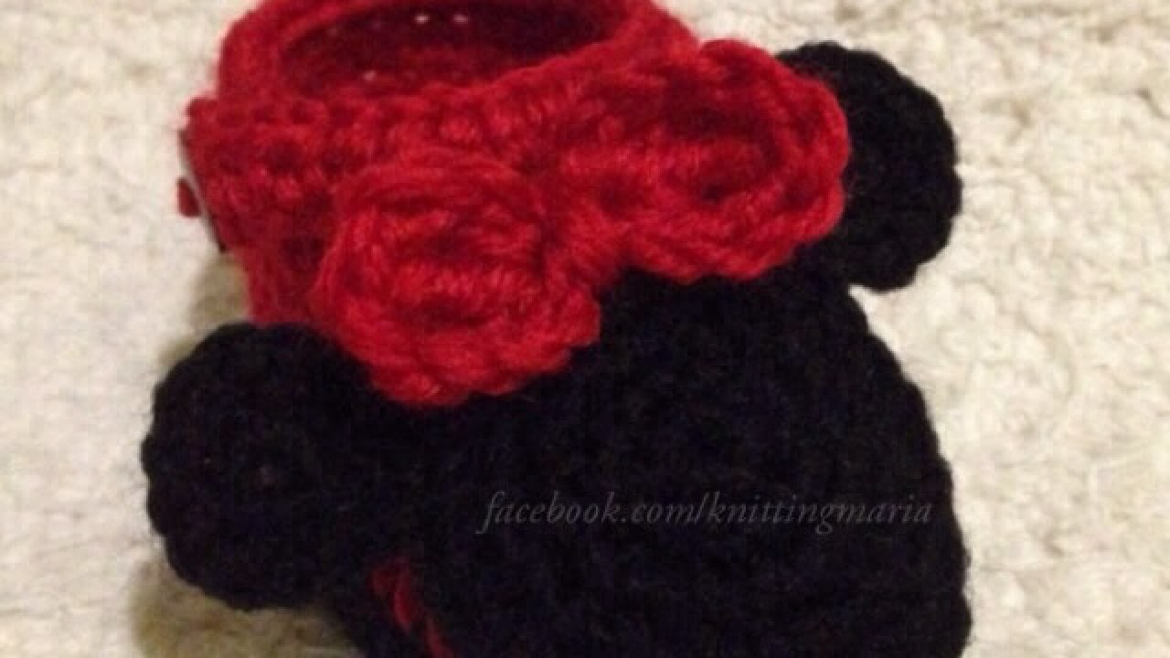 How To Make Adorable Crocheted Minnie Mouse Booties - DIY Crafts Tutorial - Guidecentral