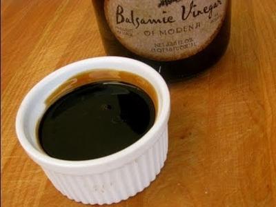 How-To Make Balsamic Glaze