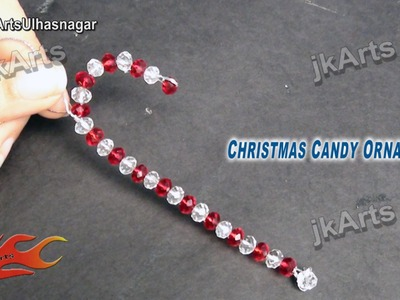HOW TO: make Christmas candy Ornament Decoration - JK Arts 460
