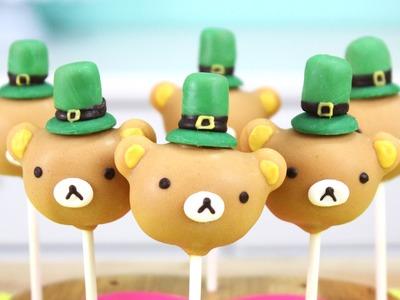How to Make St. Patricks Day Rilakkuma Cake Pops!